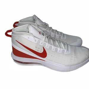 Nike Shoes - NEW Nike Air Max Dominate EP White Red Sneakers